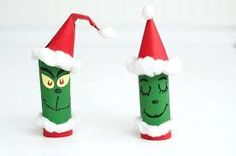 Image result for toilet paper tube Christmas tree
