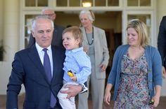 New Australian Prime Minister Totally Upstaged By His Adorable Grandson