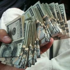 money, dollar, and cash image Mo Money, How To Get Money, Make Money Online, Cash Money, Money On My Mind, Argent Paypal, Money Stacks, Wealth, Saving Money