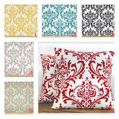 Listing includes 1 traditions pillow cover. You can choose any fabric you would like by the options, red pillow, green pillow, grey pillow, black pillow, yellow pillow, teal pillow, floral pillow, yellow floral pillow above.      - Made to fit 18x18 size