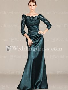 Spring Mother of the Bride Dresses_Teal