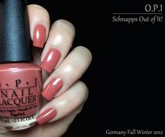 OPI: Germany Collection - Schnapps Out of It!