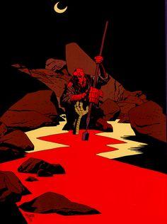 Hellboy, by Mike Mignola