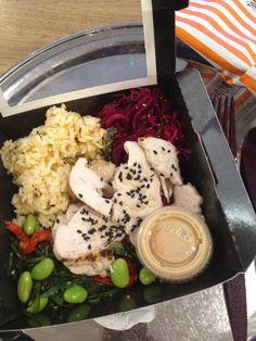 Sushi salad - based on pret a manger