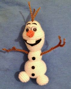"Ravelry: Another ""Olaf"" pattern by Becky Ann Smith"