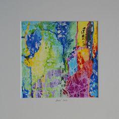A' 101, 30x30 cm, 2014 by Dorota Henk