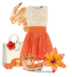 """Summer time classic"" by amabiledesigns on Polyvore"