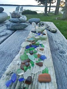 Pemaquid Point, Maine June 10, 2014: WINNER! ~ sea glass contest photo submitted by Brian Jenkins, New Harbor, Maine Where was this photo taken? This photo was taken along the rocky coast