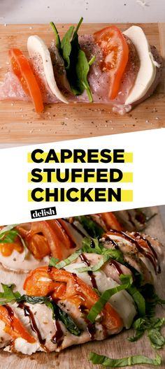 Caprese Stuffed Chicken Makes Dinner Planning A BreezeDelish