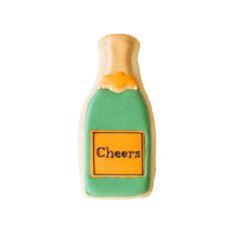 Champagne Bottle Cookie, Sweet Kiera