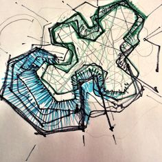 Conceptual #drawing #sketch