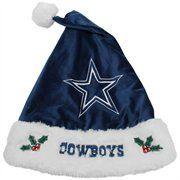 Dallas Cowboys 2012 Santa Hat-I have it and I wear it! Dallas Cowboys Outfits, Cowboy Outfits, Cowboy Accessories, Cowboy Christmas, Merry Christmas, How Bout Them Cowboys, Dallas Cowboys Football, Love My Boys, Texans