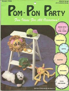 It's POM-PON party time.  Deal with it.