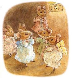Beatrix Potter -oooohh, I miss reading these books to my kids