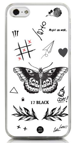 Larry's Tattoos Phone Case - Cases by Kate One Direction Tattoos, One Direction Drawings, One Direction Harry Styles, One Direction Memes, Larry Stylinson, Louis Tomlinson Tattoos, Louis Tomlinson Imagines, Desenho Harry Styles, Larry Tattoos