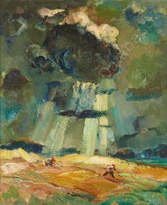 Edmond BELLEFROID, Olieverf, 90 x 75