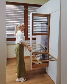 Talk about maximizing a laundry room! By via Talk about maximizing a laundry room! Laundry Room Organization, Laundry Room Design, Home Room Design, House Design, Modern Laundry Rooms, Laundry In Bathroom, Laundry Area, Laundry Decor, Home Decor Furniture