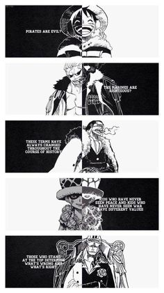 One Piece Monkey D. Luffy Smoker Sir Crocodile Trafalgar Law Sakazuki / Akainu - Manga - One Piece Monkey D. One Piece Manga, One Piece Comic, Manga Anime, Me Anime, Anime Stuff, Monkey D Luffy, Trafalgar Law, One Piece Quotes, Amaama To Inazuma