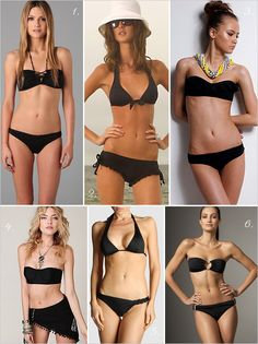 #honeymoon, black bikini, black bathing suit, beachware