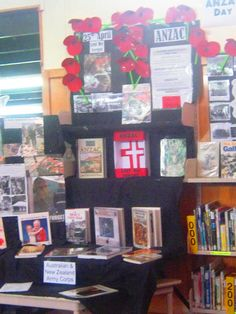 Library Displays: ANZAC Day