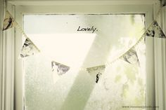DIY Photo Bunting » Love Photography