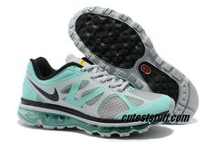 Womens Nike Air Max 2012 LAF Tropical Twist Anthracite Tropical Blue Shoes