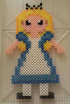 Disney perler bead pattern Alice in Wonderland by Amy Lynn