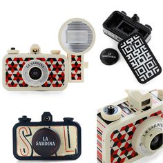La Sardina Cameras Add a Touch of Flare to Your Photography Tool Kit - www.geeksugar.com