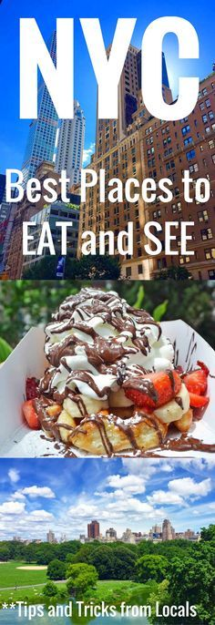 A comprehensive guide of the BEST places to EAT and SEE in New York City. Tips and tricks from the locals on how to navigate the city, the best places to see, and the highest rated places to eat. If you are planning a trip to New York City, you need this guide. www.modernhoney.com
