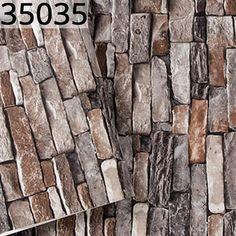 Vintage Stone Cultural 3D Brick Wallpaper