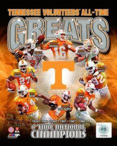 Tennessee Vols - Peyton Manning, Jamal Lewis, Donte Stallworth, Jason Witten, Reggie White, Robert Photo at AllPosters.com