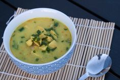 Tom Kha Gai - Thai Soup with Ginger, Chili and Garlic