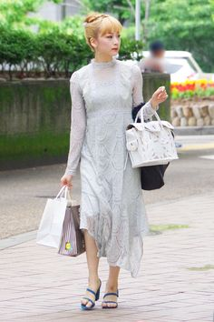Dresses With Sleeves, Long Sleeve, Fashion, Moda, Gowns With Sleeves, Fashion Styles, Fasion