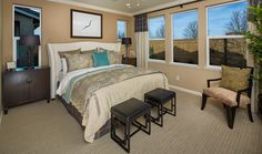 Marquesa - Plan 2 - Master Bedroom