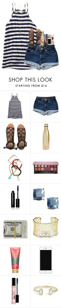 """"" by pineappleprincess1012 ❤ liked on Polyvore featuring Aéropostale, Billabong, S'well, BaubleBar, Anastasia Beverly Hills, Bobbi Brown Cosmetics, Kate Spade, Kendra Scott, Victoria's Secret and Too Faced Cosmetics"