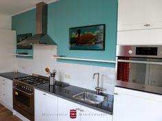 De keuken in vakantiewoning Abtsbouwing www.marienwaerdt.nl