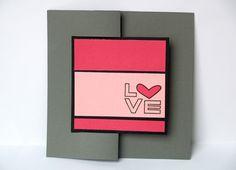 love flip it card