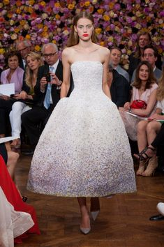 Christian Dior at Couture Fall 2012