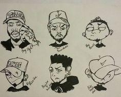 #mystylechallenge Cartoon Drawings, Cartoon Art, Cool Drawings, Cartoon Design, Cartoon Styles, Illustrations, Illustration Art, Art Style Challenge, Dope Cartoons