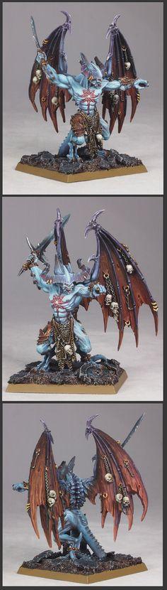 CoolMiniOrNot - Be'lakor, Daemon Prince by holajaxtw