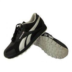 f3659e086f64 Get OFF ON Reebok Aviator Black Shoes Hamper. Attractive