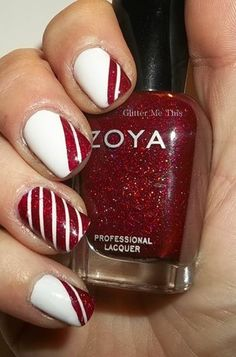 Holiday Look with Zoya Nail Polish and Glitter Me This