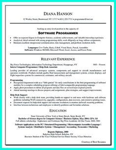 awesome computer programmer resume examples to impress employers - Computer Programmer Resume