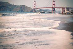 peek of the Golden Gate