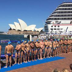 Water Polo By The Sea in Sydney Harbour [Australia v Italy]. #azzurri #italia #pallanuoto #waterpolointernational #waterpoloamazing #australia #sydneyunilions #sydney #sydneyoperahouse #carnivalcruise #sydneyharbour #sydneyharbourbridge #therocks by play_water_polo http://ift.tt/1NRMbNv