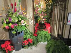"""The theme for the 2013 Cathedral Flower Festival was """"A Salute to the Designers"""""""