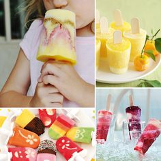 Homemade icy-poles the whole family will love