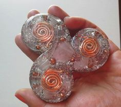 Powerful triskelion orgonite, Orgone Energy, Orgone Generator ...
