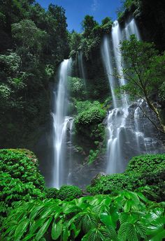 Sekumpul waterfall, Buleleng district, Central Bali, Indonesia | Nora Carol via Flickr