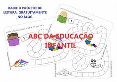 ABC DA EDUCAÇÃO INFANTIL: PROJETO DE LEITURA - FOLHA DE MARCAÇÃO